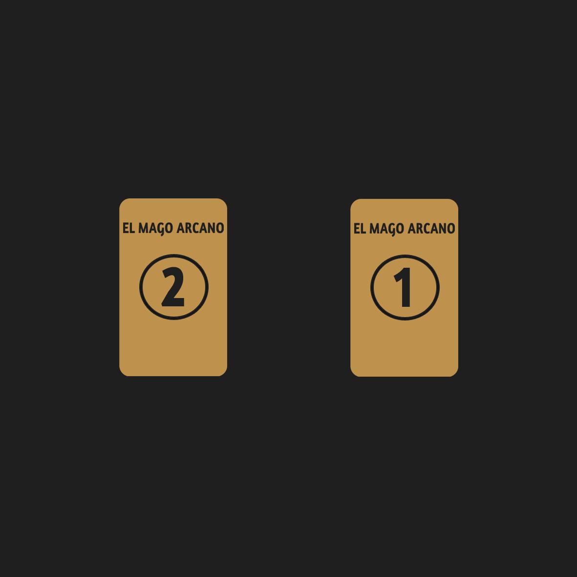 Tirada de dos cartas