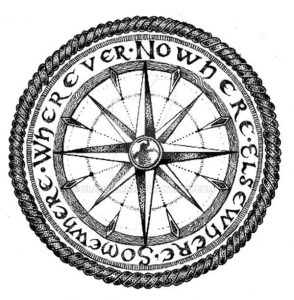brujula compas vikingo