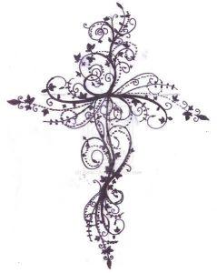 tatuaje cruz celta mujer femenino