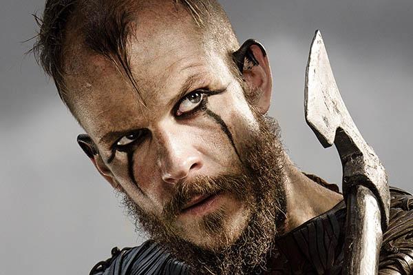 maquillaje floki vikings serie