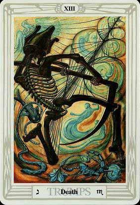 La Muerte tarot