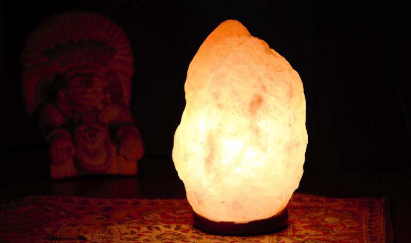 Beneficios Lampara de Sal del Himalaya